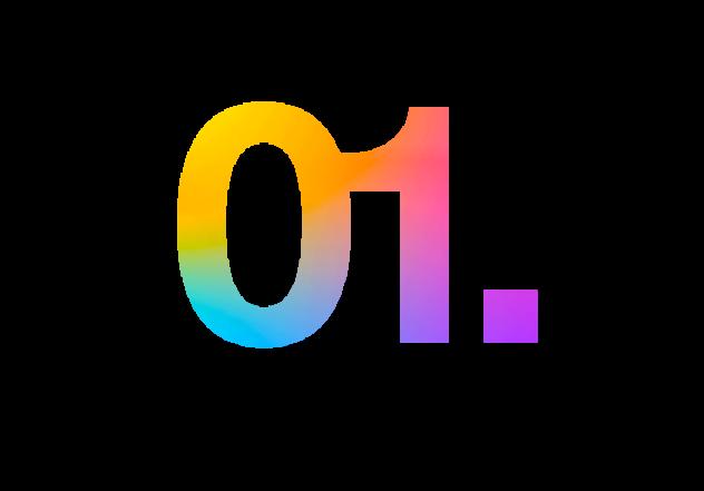 01 multicolore