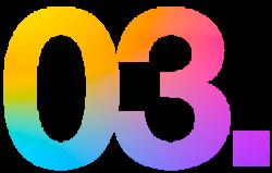 03 multicolore x