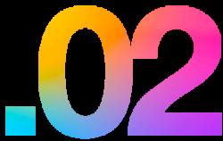 02 multicolore X